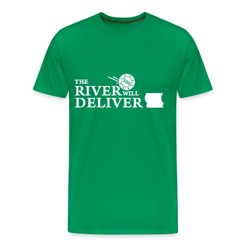 Poker (white) - Men's Premium T-Shirt