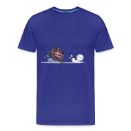 Tee shirts ~ T-shirt Premium Homme ~ Miam Miam Mouton