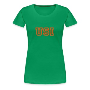 Woman T-shirt (green) - Women's Premium T-Shirt