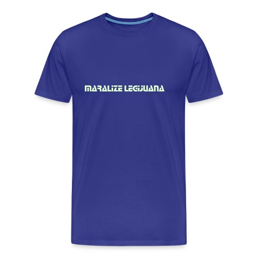 Maralize Legijuana (Glow in the dark) - Männer Basis T-Shirt - Männer Premium T-Shirt