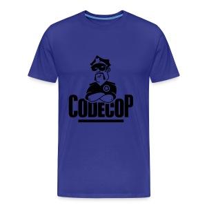 Code Cop, 'Blue Cosy Peter' - Men's Premium T-Shirt
