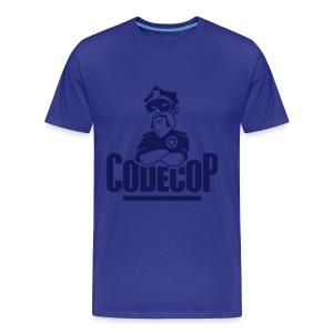Code Cop, 'Discreet Blue Andreas' - Men's Premium T-Shirt