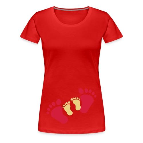 jouw voetjes samen met de mijne - Vrouwen Premium T-shirt