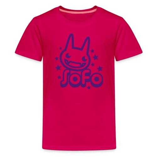 SOFO JR Kitty Tee - Premium-T-shirt tonåring