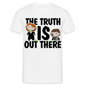 Camiseta Expediente X, Truth is out there - chico manga corta - Camiseta hombre
