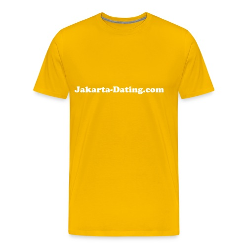 Jakarta Dating T-shirt male - Men's Premium T-Shirt