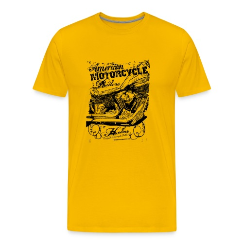American Motorcycle|T-shirts  biker - T-shirt Premium Homme