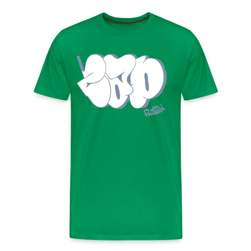 Cap Flossin - Men's Premium T-Shirt