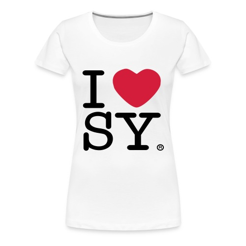 I heart SY (women's t-shirt) - Women's Premium T-Shirt