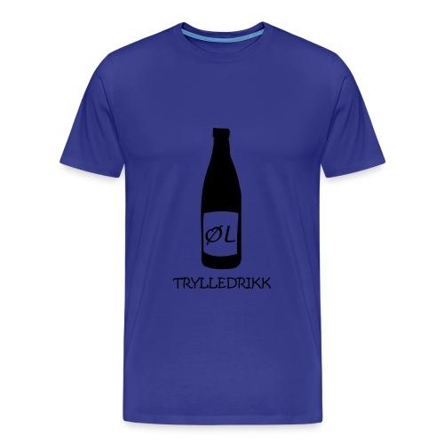 Øl magic drink! - Premium T-skjorte for menn