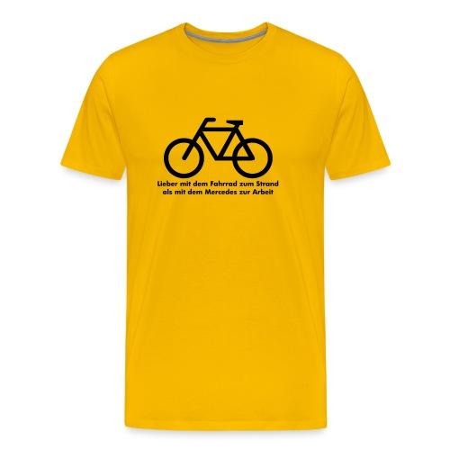 Lieber Fahrrad - Männer Premium T-Shirt