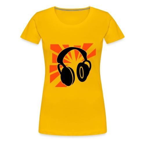 music - T-shirt Premium Femme