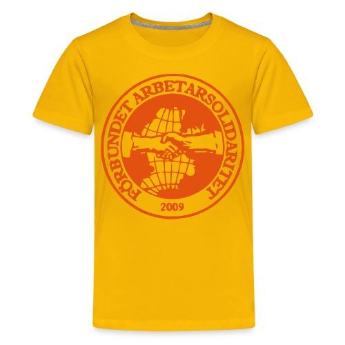 Logo - T-shirt - Barn - Premium-T-shirt tonåring
