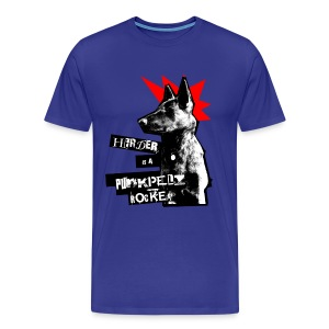 Herder - blau Shirt - Männer Premium T-Shirt