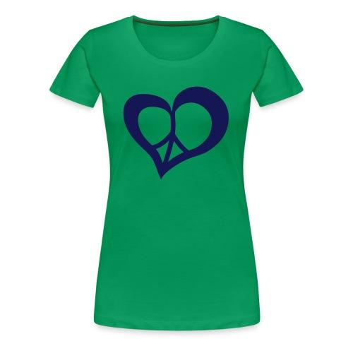 Peace & Love. - T-shirt Premium Femme