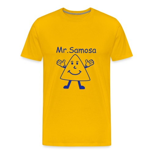 Mr. Samosa - Men's Premium T-Shirt