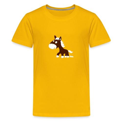 Webwinkel kinderkleding Funny en hippe babykleding en kinderkleding - Teenager Premium T-shirt