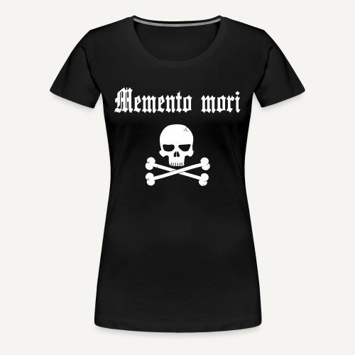 Memento mori - Koszulka damska Premium