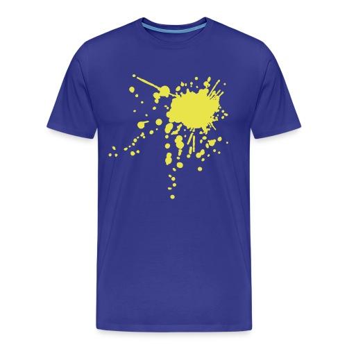 Til kamp for gul og blå - Herre premium T-shirt