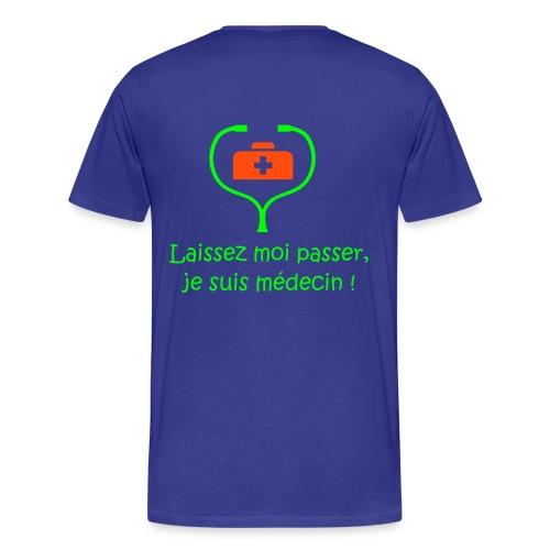 LE t-shirt des étudiants de médecine (version homme) - T-shirt Premium Homme