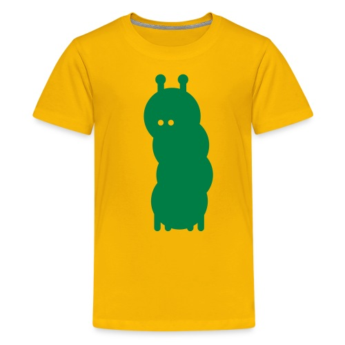 Animalistic Caterpillar - Teenager Premium T-shirt