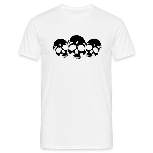 Three Skulls - Männer T-Shirt