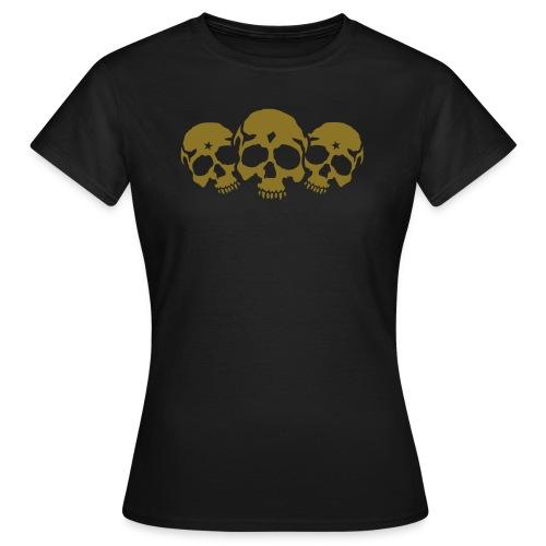 Three Skulls - Frauen T-Shirt