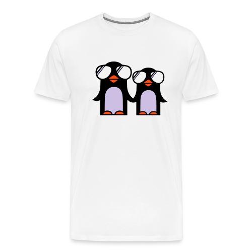 Perfekte ski T-Skjorta - Premium T-skjorte for menn