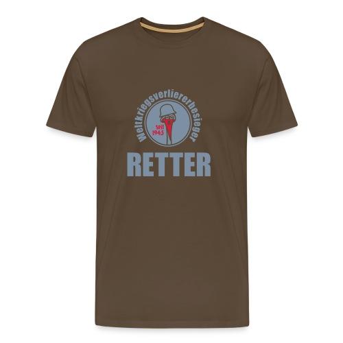 Retterhemd - Limitierte Silberedition - Männer Premium T-Shirt