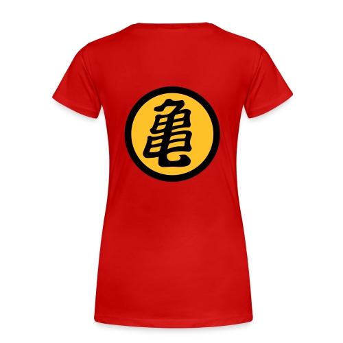 Kame (estampacion delantera y trasera) - Camiseta premium mujer