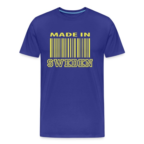 Made in sweden , male - Men's Premium T-Shirt