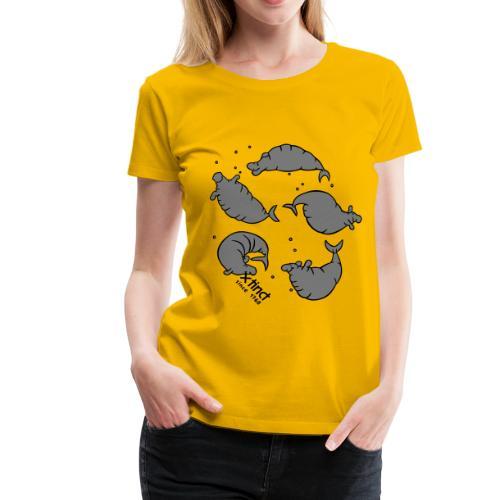 Simone Fass Seekuhtanz - Frauen Premium T-Shirt