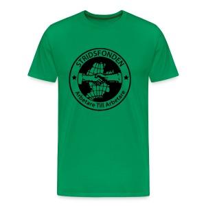 T-shirt - Stridsfonden - Herr - Premium-T-shirt herr