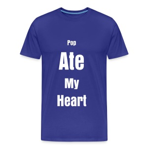 Pop Ate My Heart - Men's Premium T-Shirt