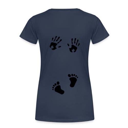 Kummitustäti paita - Naisten premium t-paita