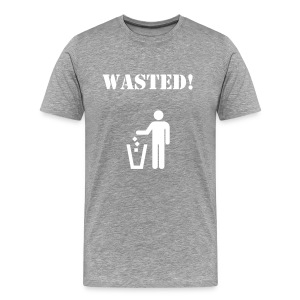 Wasted! - Men's Premium T-Shirt