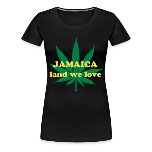 Women's ''JA we love'' T-shirt - Women's Premium T-Shirt