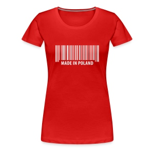 made in Poland - Women's Premium T-Shirt