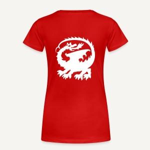 Smok 3 - Koszulka damska Premium