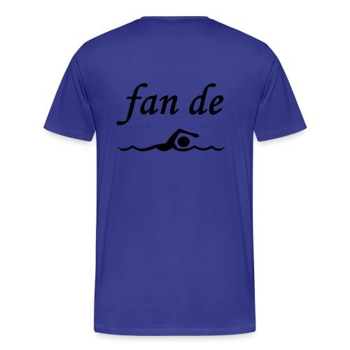Fan de natation - T-shirt Premium Homme