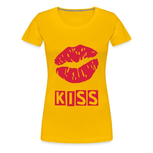 Girls Kiss Tee - Women's Premium T-Shirt