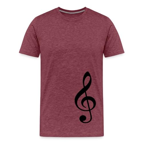 Music - Maglietta Premium da uomo