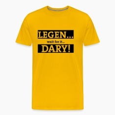 Yellow  Men's T-Shirts