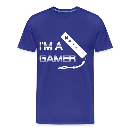 I'm a Gamer - Wii - Men's Premium T-Shirt