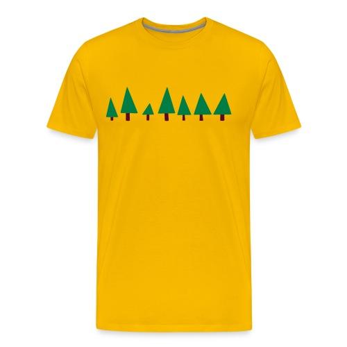 Forest2 - Mannen Premium T-shirt