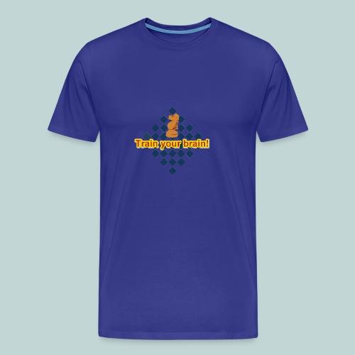 Brain Springer 1 - Männer Premium T-Shirt