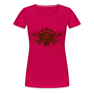 God bless punk rock - T-shirt Premium Femme