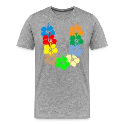 Hawaiian style - Maglietta Premium da uomo