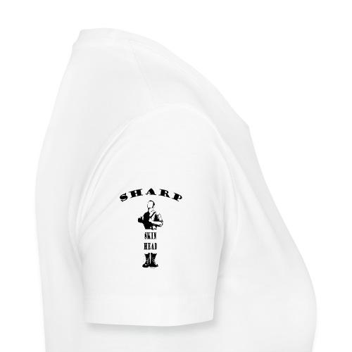 sharp skinhead both sleeves - Women's Premium T-Shirt