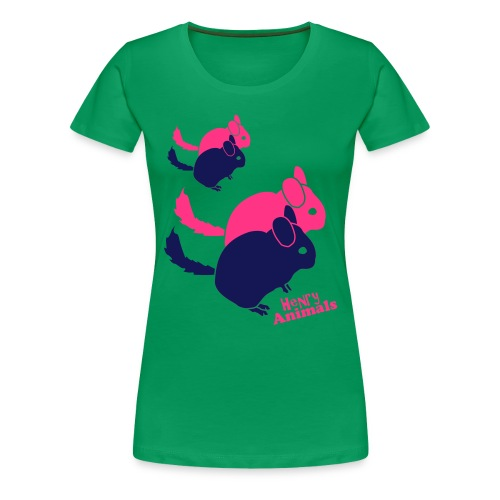 Chichilla T-Shirt - Frauen Premium T-Shirt